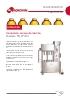 Llenadora lineal 4 grifos PG97-B4