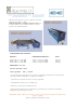 Easy Lami, Máquina manual para el corte y apertura del vidrio laminado con EVA y/o PVB