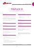 Clarificantes TRIPLEX R