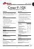 Decolorantes y desodorizantes Croer F10X