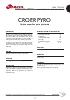Decolorantes y desodorizantes Croer Pyro