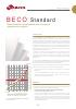 Beco Standard, Placas filtrantes en profundidad para la industria alimentaria y enológica