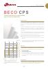 Beco CPS, Filtración clarificante en profundidad para la industria alimentaria