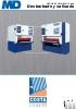 Desbarbadora-Satinadora COSTA MD 4-5