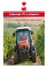 Tractores viñeros y fruteros: gama Frutteto