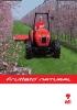 Tractores viñeros y fruteros: gama Frutteto Natural