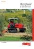 Tractores de cadena: modelo Kripton