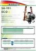 Pulverizador hidráulico suspendido SH-991 ECO Makato (2016)