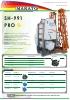 Pulverizador hidráulico suspendido SH-991 Pro_brazos Makato (2016)