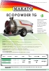 Atomizador arrastrado Ecopowder TG Makato (2016)