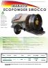 Atomizador arrastrado Ecopowder Sirocco Makato (2016)