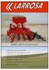 Sembradora mecánica de siembra directa de reja alzada