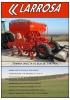 Sembradora mecánica de siembra directa de reja con tolva supergigante.