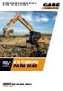 Excavadoras de cadenas Case serie D CX130D - 160D - 180D