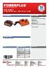 POWDP9065 Cargador 20-40V + Bateria 40V