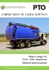 Compactador de carga superior PTO