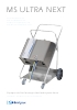 Catálogo nuevo equipo de higienización: MSC MÓVIL ULTRA NEXT
