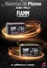 Baterías de plomo FIAMM
