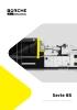 Inyectoras Serie BS servomotor con máquina de 60 t a 1.800 t