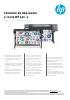 Solución de impresión y corte HP L315