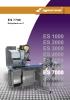 Etiquetadora automática peso-precio ES770