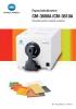 Espectrofotómetro CM-3600A / CM-3610A