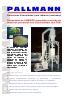 PLÁSTICO - Pulverizado de UHMWPE granulado reciclado de deshechos prensados, Molino pulverizador PKM, ES