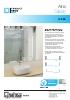 SV- X70, sistema compacto de puertas correderas para mamparas de ducha