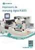 Impresora de stamping digital K600i