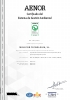 Certificado AENOR ISO 14001:2015