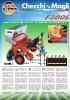 Plantadora de patatas semiautomática de 1 a 4 hileras. Mod. F300L