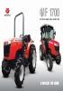 Tractores compactos. MF 1700 de Massey Ferguson
