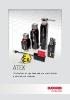 Interruptores de seguridad ATEX para uso en atmósferas explosivas