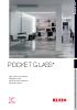 Sistemas de puertas correderas Pocket Glass