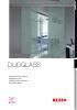 Sistema de puertas correderas Duoglass