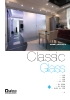 Divisiones y puertas de paso Classic Glass