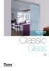 Divisiones y puertas de paso Classic Glass SV-A100 / A125