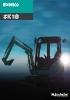 Miniexcavadoras SK18 de Kobelco