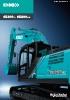Miniexcavadoras SK260LC-10 y SK260NLC-10 de Kobelco