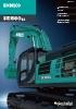 Miniexcavadoras SK500LC-10 de Kobelco