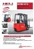 Serie EFG Tres ruedas AC 1.6 Ton