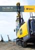 PowerROC T45. Equipo de perforación de superficie para canteras y obras de construcción