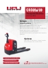 CBD20-150 Transpaleta Eléctrica 2.0 Ton EPS