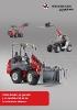 Catálogo general de cargadoras sobre ruedas y manipuladores telescópicos Weidemann