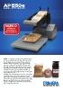 AP550e aplicador de etiquetas para superficies planas