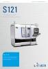 STUDER S121 – la económica para múltiples aplicaciones de rectificado de interior.