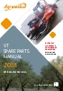 Manual de recambios VT 2018 ( Inglés )