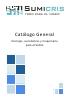 Catálogo general Sumicris Herrajes, suministros y maquinaria para el Vidrio