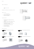 Ficha técnica de aireador de pared para ventilación natural Air WHM