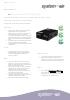 Ficha técnica de recuperadores de calor - Air Komfort EC D5B180(-E)